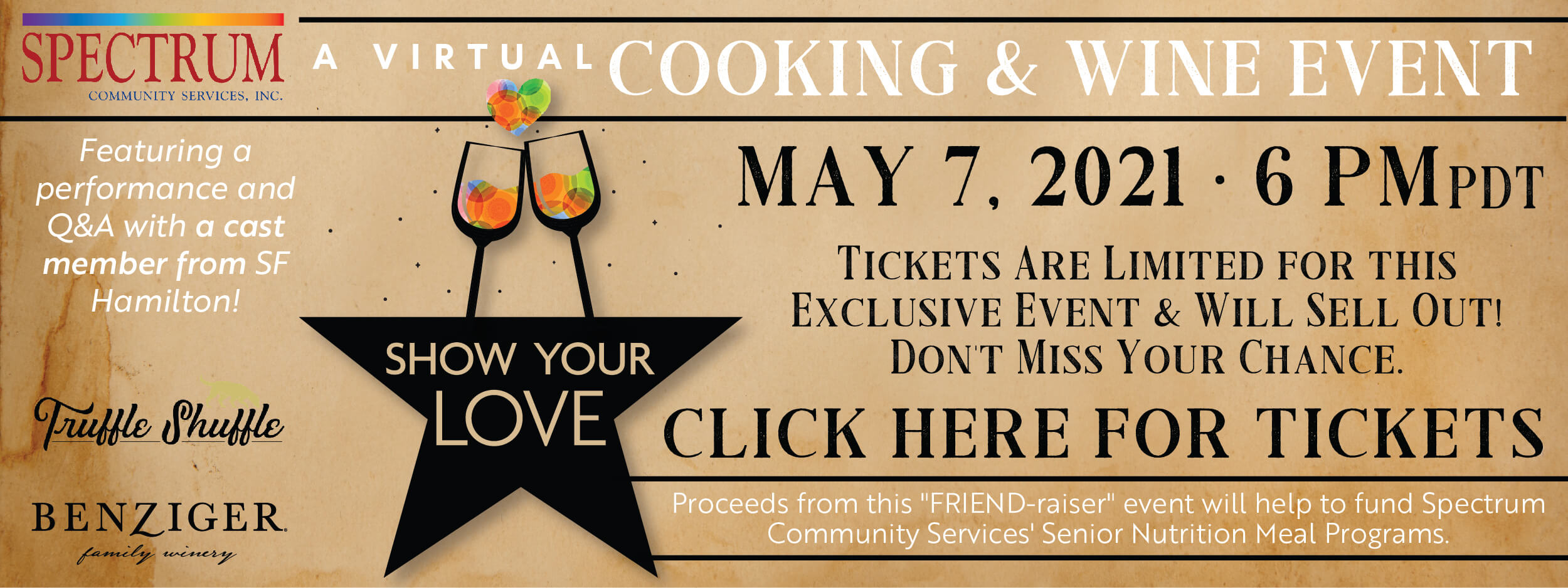 A Virtual Cooking & Wine Event