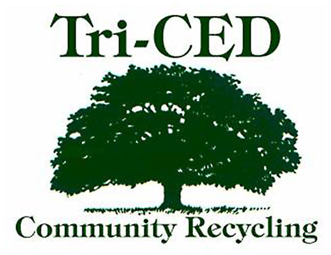 Tri-CED Community Recycling Logo